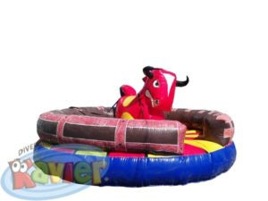 TORITO INFLABLE MONTABLE